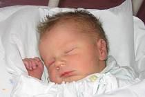 Daniel Kutěj, narozen 23. září, míra 48 cm, váha 3 030 g
