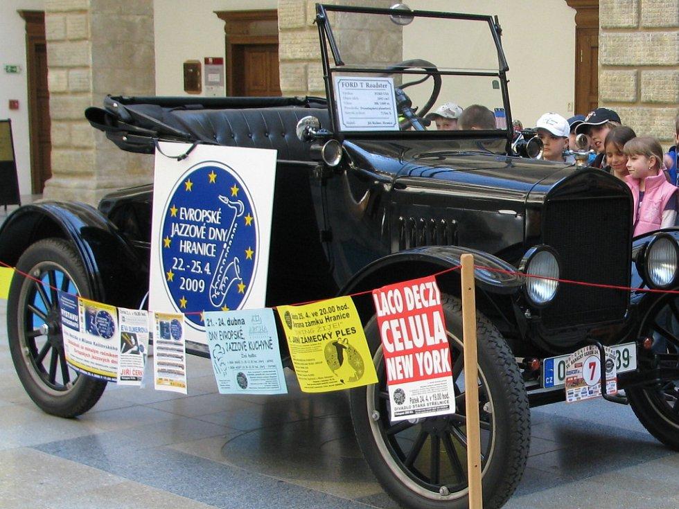 Evropské jazzové dny v Hranicích odstartují ve středu 22. dubna.