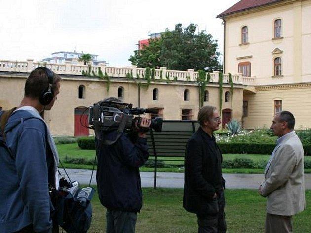 V Lipníku nad Bečvou se natáčel pořad České televize – Památky na prodej.