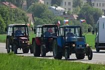 Protesty zemědělců na Hranicku