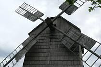 Maršálkův větrný mlýn v Partutovicích