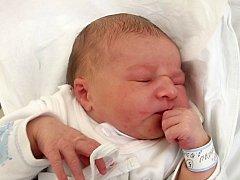 Sebastián Čabla, Přerov, narozen dne 2. října 2013 v Přerově, míra: 49 cm, váha: 3526 g