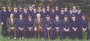 Olšovečtí hasiči v roce 1998.