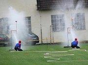 Dnes hasiči v Olšovci pořádají i různé soutěže.