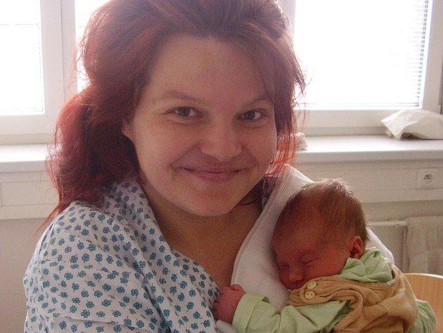Jaromíra Kvasničková, Přerov, Syn Jan Kvasnička, narozen v Přerově dne 29. 4. 2008, váha: 3,25 kg
