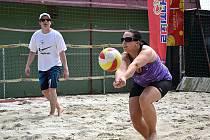 Dvoudenní turnaj v plážovém volejbalu se v sobotu 18. a v neděli 19. července odehraje již podesáté