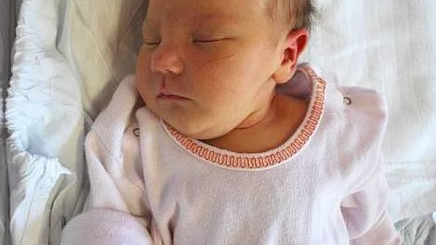 Taťána Vaninová, Oplocany, narozena 10. srpna 2010 v Přerově, míra 51 cm, váha 3 730 g