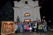 Horní Těšice, Česko zpívá koledy 10. 12. 2014