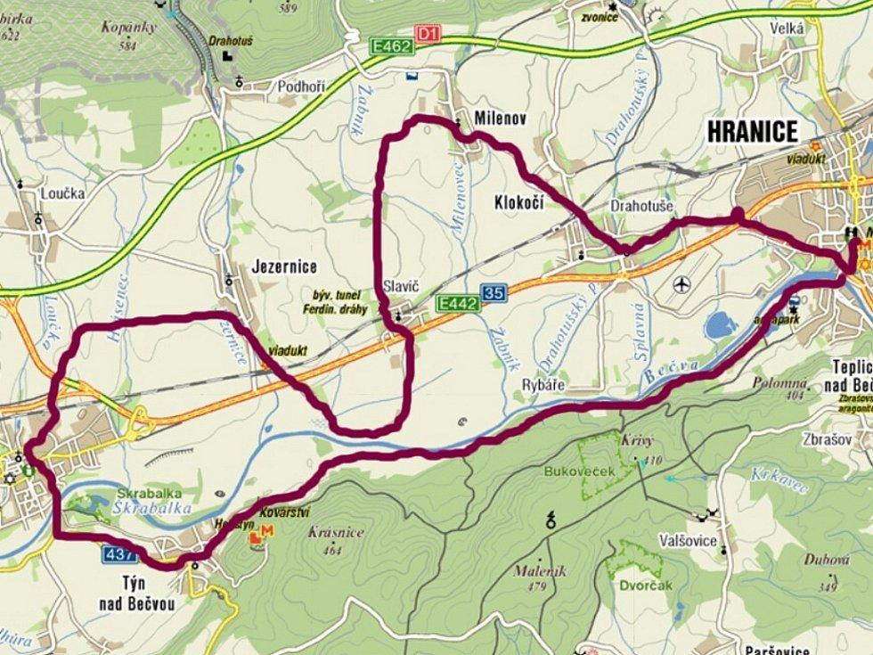Výlet údolím Bečvy pro celou rodinu