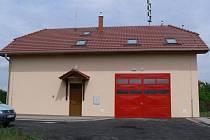 Nová hasičská zbrojnice ve Velké.