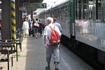 Loni do Hranic nedojel. Letos Comenius cestující do Hranic přivezl s osmiminutovým zpožděním.