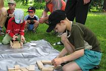 Dvě stovky dětí přišly oslavit svůj den do hranického parku Československých legií.