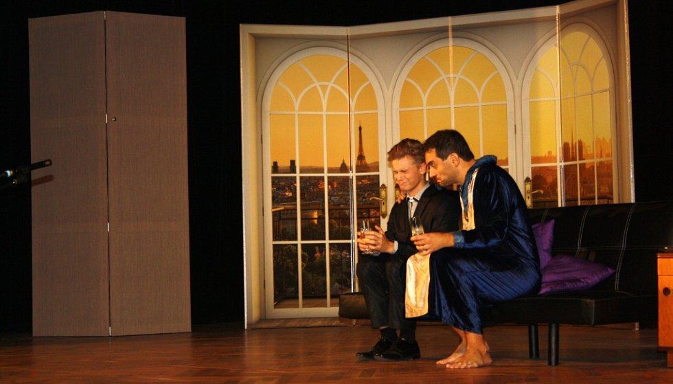 Dva nahatý chlapi divadla Ventyl