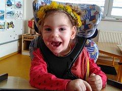 Výtěžek z chystané benefiční akce poputuje na potřebnou zdravotní péči a důležité pomůcky pro Julinku z Bělotína.