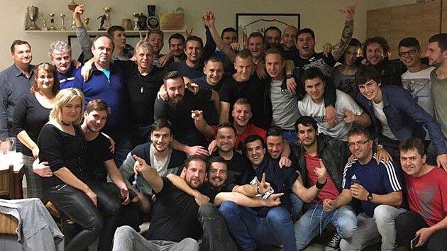 Fotbalisté TJ Sokol Bělotín po úspěšném podzimu