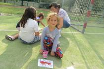 Děti z mateřské školky Struhlovsko Hranice zažily zábavné odpoledne na téma Na mravenčí pasece.