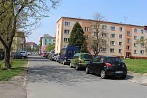 Hranické sídliště Kpt. Jaroše.
