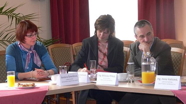 Tisková konference k plánům sdružení Moravská brána