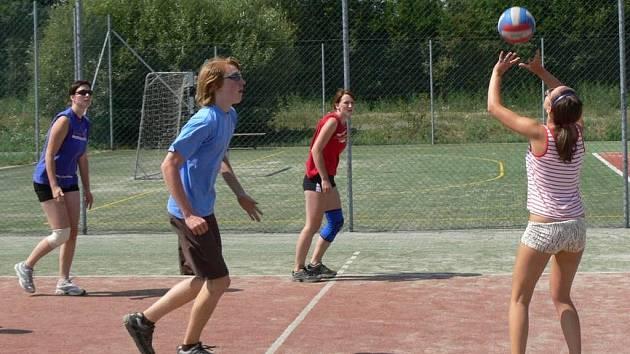 Volejbalový turnaj v Drahotuších