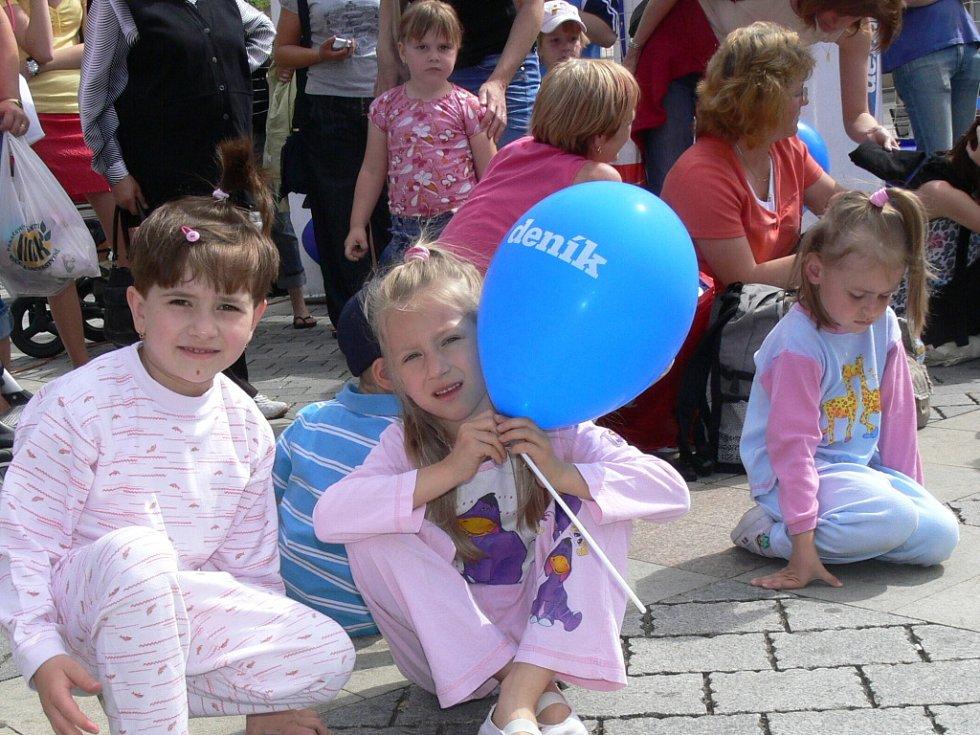 Na Prima den s Deníkem zavítalo v pátek na náměstí T. G. Masaryka v Přerově asi šest set lidí.