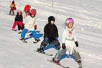 Zakončení lyžařské školy v Potštátě