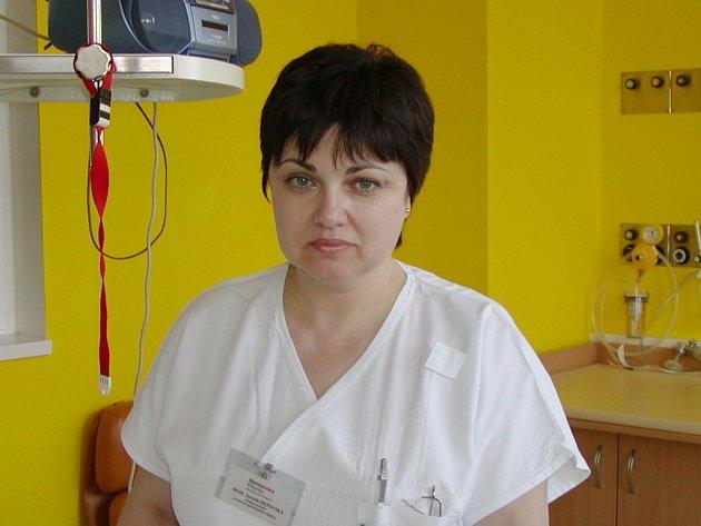 Nová primářka Jarmila Repovská.