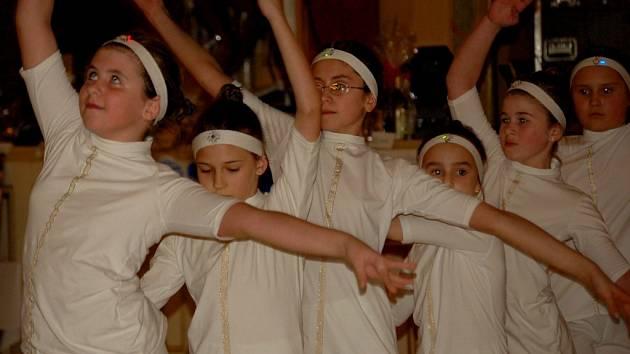 Program zpestřilo i vystoupení tanečníků ze základní školy Mateřídouška v Předmostí.