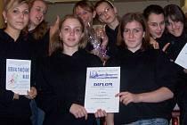 Děvčata z tanečního oboru Základní umělecké školy v Hranicích pojedou na mistrovství ČR.
