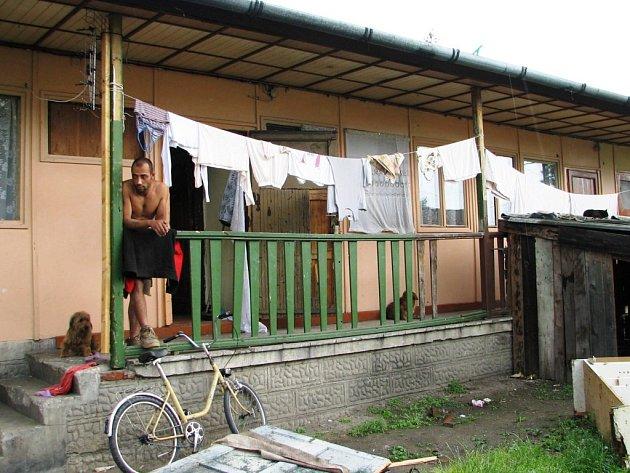 Bydlení v bývalé ubytovně zvané Vietnam je jen pro otrlé.