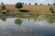 Zrekonstruovaný rybník v Dobrčicích
