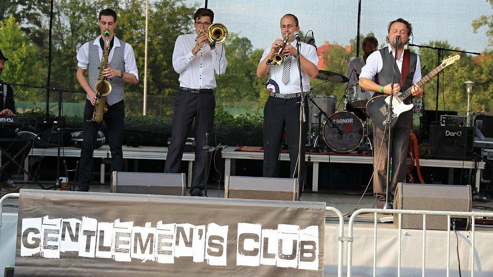 Hranická kapela Gentlemen´s Club