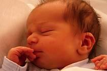 Petr Žádník, Přerov, narozen dne 9. prosince 2013 v Přerově, míra: 48 cm, váha: 3 018 g