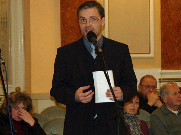 Přerovský zastupitel Richard Šlechta (SpP)
