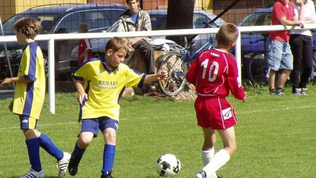 Do Horní Moštěnice na turnaj mladších přípravek 4+1 přijely Bochoř, Kozlovice a Ústí.