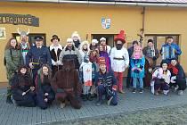 Jan Řehák šel loni v průvodu za kominíka.
