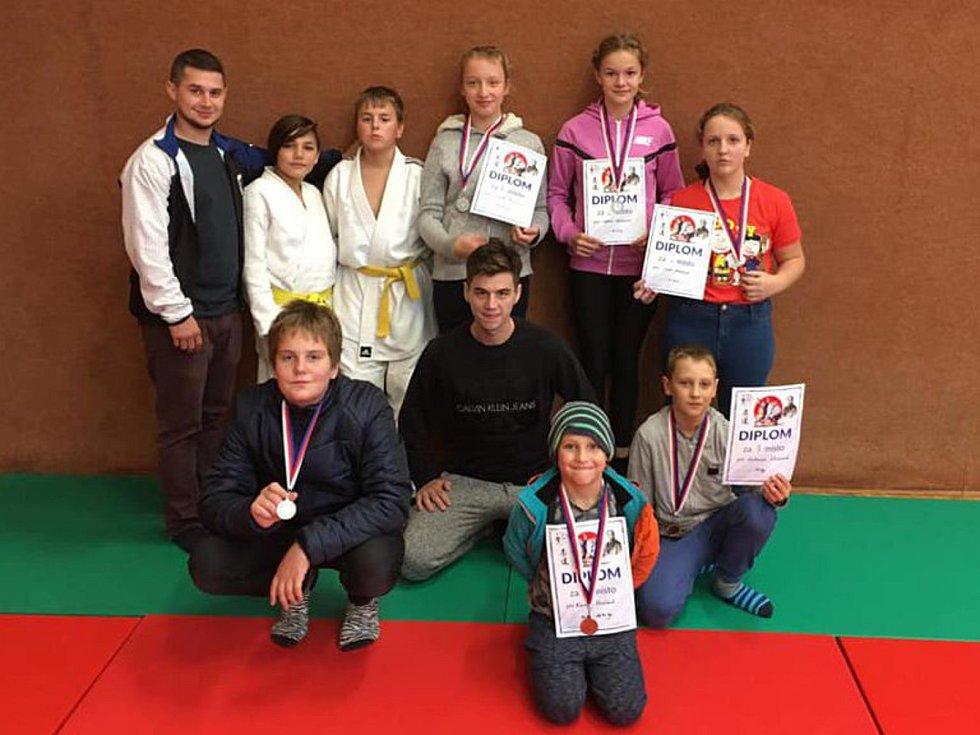 Malí judisté Judo Železo uspěli na turnaji v Tvrdonicích.