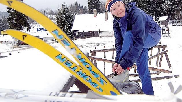 Pozor na lyže!