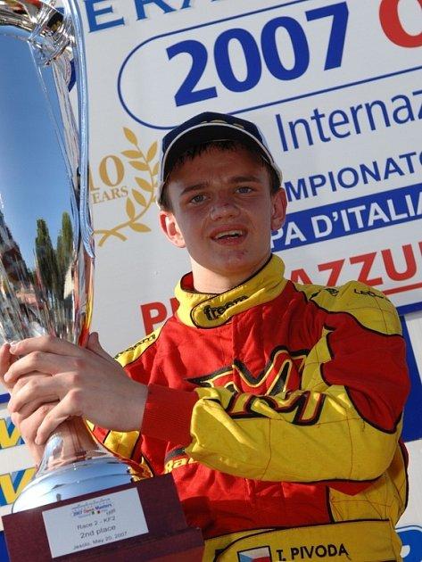 Tomáš Pivoda skončil v Joselu druhý za Němcem Burghardem.