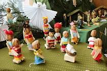 Výstava betlémů a vánočních tradic 2020 v Galerii M+M v Hranicích, 25. listopadu 2020