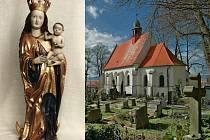Kostelíček a unikátní socha Hranické madony
