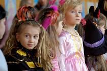 Maškarní karneval na ZŠ Struhlovsko v Hranicích
