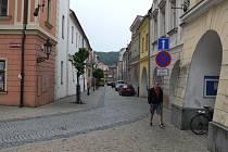 Radniční ulice v Hranicích. Ilustrační foto