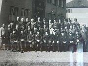 Členové SPO Drahotuše v roce 1972.