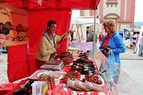 Hranické náměstí patřilo první květnový pátek Farmářským trhům.