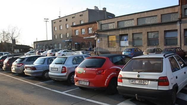 Vlakové nádraží v Hranicích