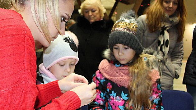 Dětský vánoční jarmark ve dvoraně zámku 2018