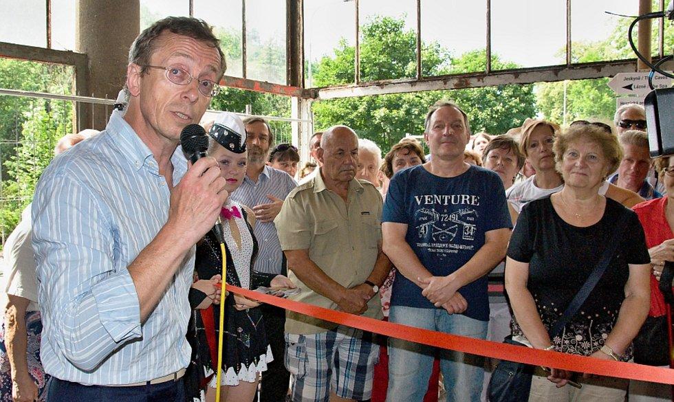 Slavnostní otevření infocentra o Hranické propasti