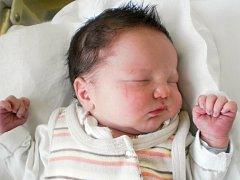 Vojtěch Číhala, Žeravice, narozen dne 27. února 2013 v Přerově, míra: 48 cm, váha: 3 218 g
