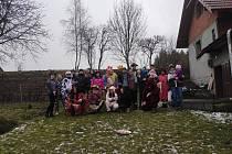 V sobotu 15. února 2020 vodili medvěda v Partutovicích.