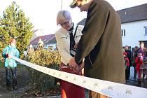 Slavnostní otevření azylového domu v Drahotuších